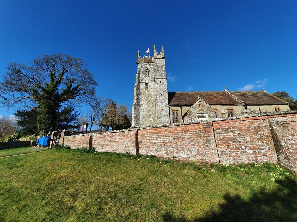 church photo outside view